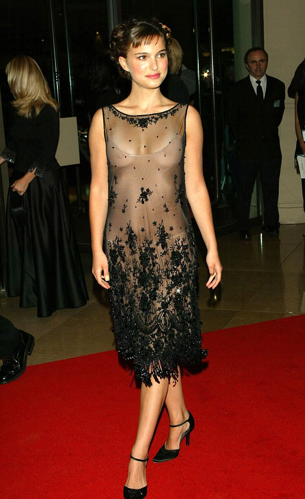 Natalie Portman Little Black Dress