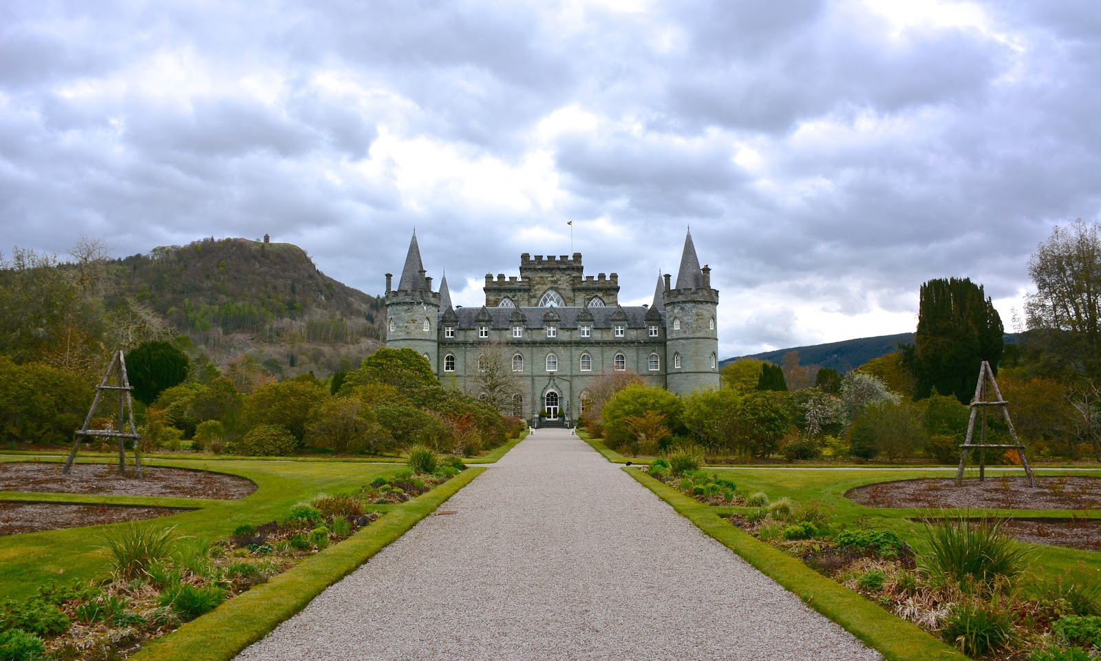 Inverary Castle in Argyll, Scotland