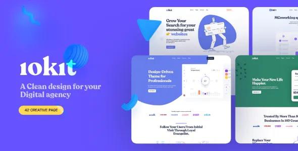 Digital & Marketing Agencies Website Template