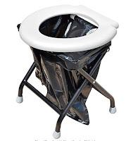 Faltbare Klapptoilette und Reisetoilette fürs Wohnmobil - das perfekte WC für unterwegs