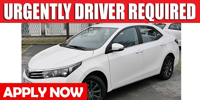URGENTLY DRIVER REQUIRED