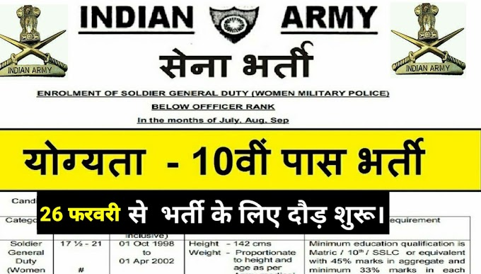 ARMY RECRUMENT RALLY PITHORAGARH 2020