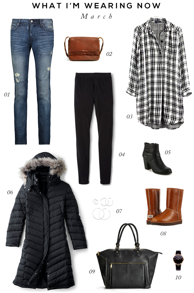Late Winter Wardrobe Essentials