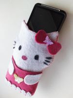 TUTORIAL GRATIS FUNDA GAFAS HELLO KITTY DE FIELTRO