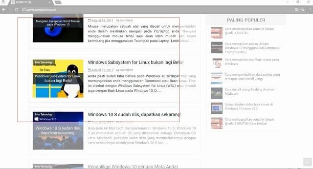 Cara Melakukan Screenshoot (Tangkapan Layar) di Windows 4