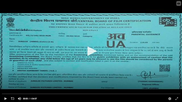 Junglee 2019 Hindi Full Movie Download 720p WEB-DL 800MB[www.moviedownloadhd.tk]