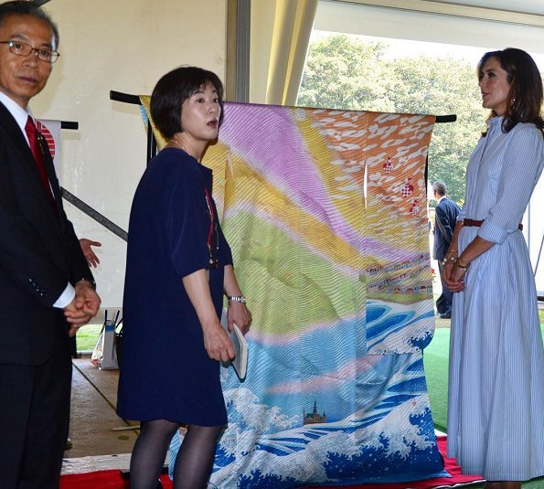 Crown Princess Mary, Rasmus Klump, Mr. Shunichi Kitamura, nebuta, HC Andersen Park, Children Museum