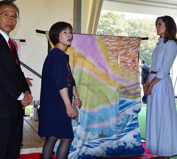 Crown Princess Mary, Rasmus Klump, Mr. Shunichi Kitamura, nebuta, HC Andersen Park, Children Museum