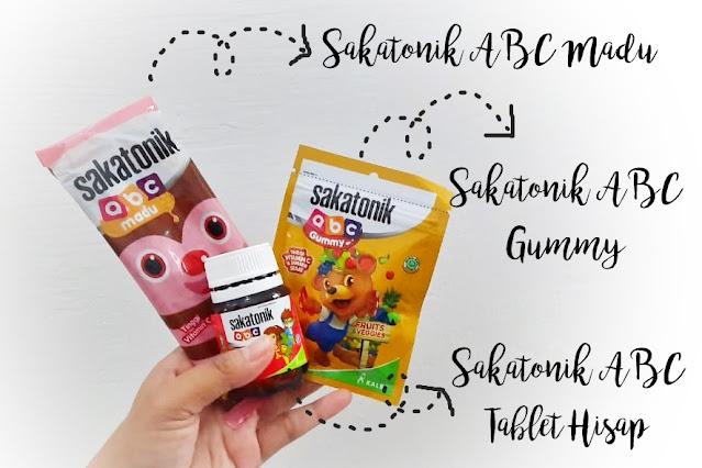 Macam-macam vitamin anak sakatonik ABC