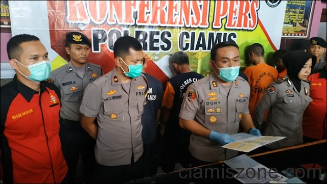 Polres Ciamis Ringkus Komplotan Curanmor di Pangadaran