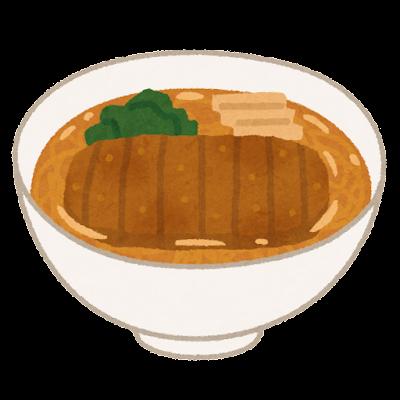 パーコー麺のイラスト