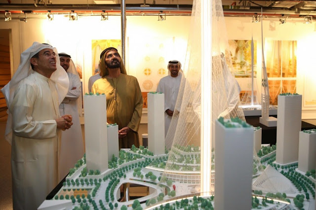 Torre Dubai Creek calatrava