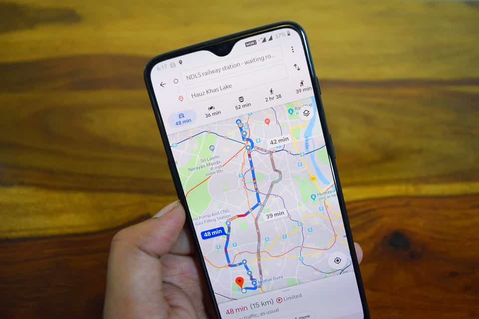 membuat lokasi di google map