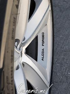 Dodge Challenger SRT Wheel Alcoa Forged