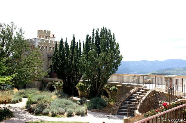 Giardino superiore a Rennes le Chateau