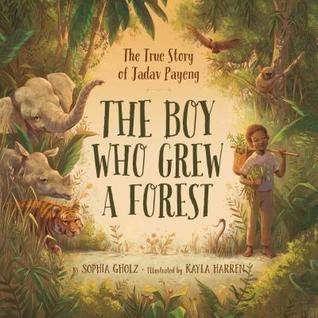 Cover art for The Boy Who Grew A Forest