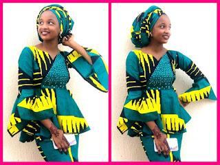 100+ Most Decorative Ankara Hausa Styles For Arewa Women
