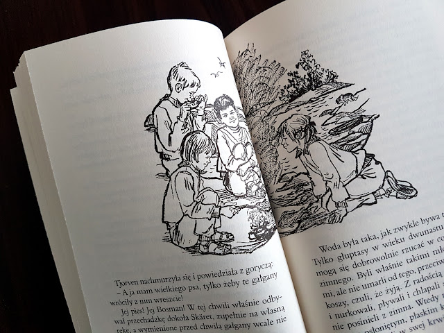 Jajo. Jajka w gnieździe i kosmosie, Kraina Robotów, Mój dziadek był drzewem czereśniowym, Dzieci z wyspy Saltkråkan, Psierociniec, Królik Franek, książeczki dla dzieci, Nasza Księgarnia, Wilga