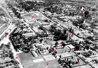 Foto Udara Pematangsiantar 1938