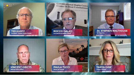activists police lawyers doctors vaccine mandates passports human rights pandemic biofascism