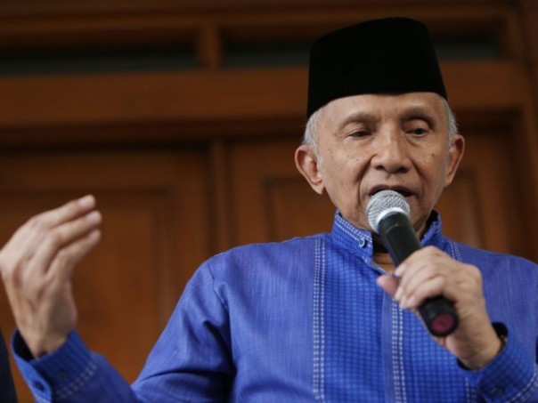 Amien Rais: Jokowi Jangan Wariskan Masalah, Kasian Yang Akan Meneruskan
