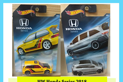Hot Wheels Honda Series 2018