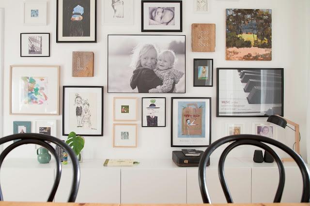 Galeriewand anlegen