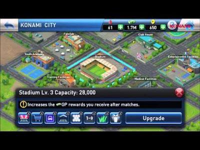 PES CLUB MANAGER APK Stadium