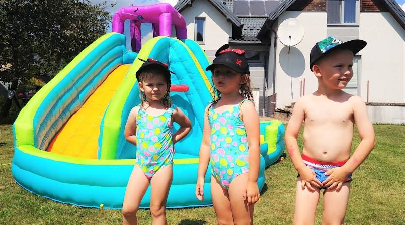 Najlepsza wakacyjna przygoda - wodny plac zabaw! FILM