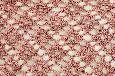 3 - Crochet Imagen Puntada a crochet de rombo muy fácil y sencilla por Majovel Crochet