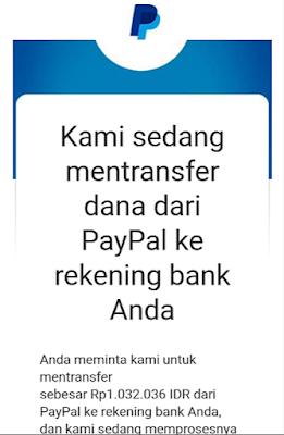 Cara Tarik Dana Paypal Ke Bank BCA