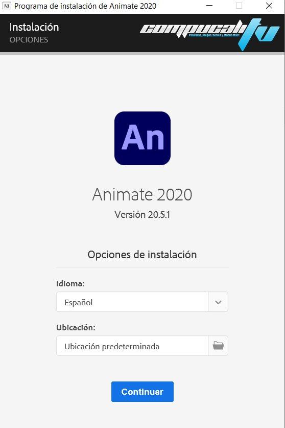 Adobe Animate Versión Full Español