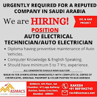 Auto Electrical Technician Vacancy
