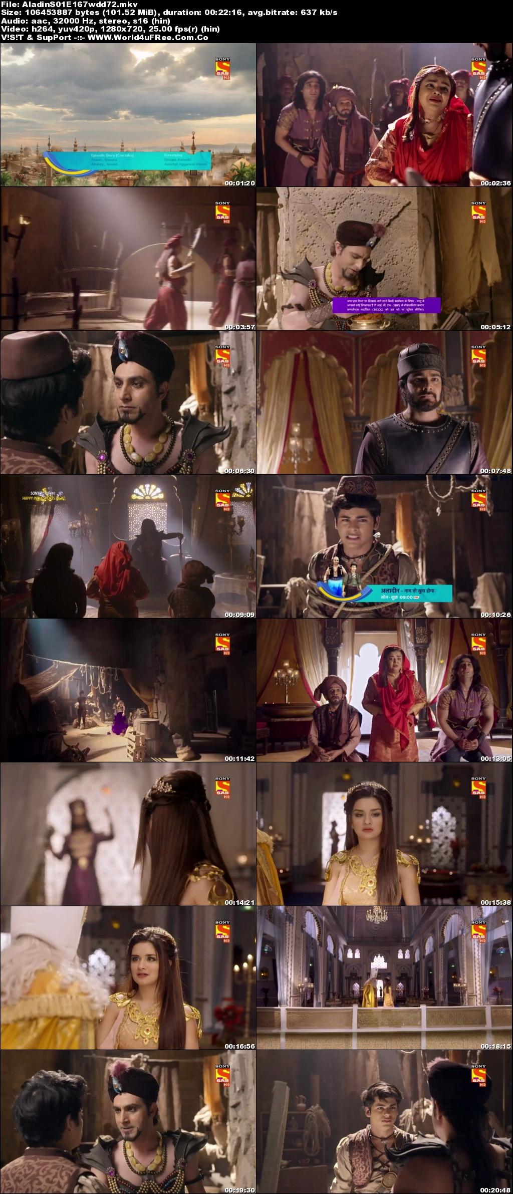 Screenshots Of Hindi Show Aladdin – Naam Toh Suna Hoga 2019 Episode 168 300MB 720P HD