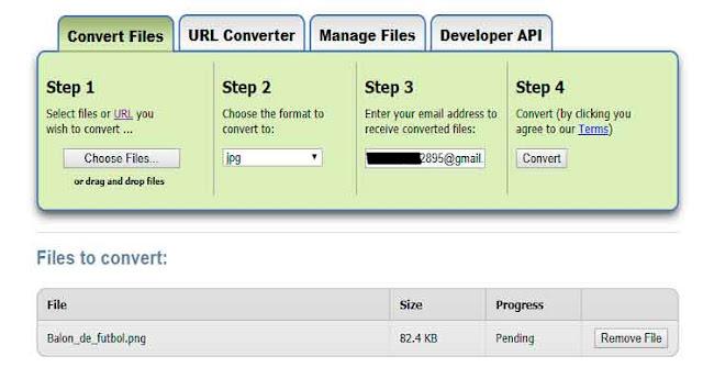 Convertir tus archivos a cualquier formato