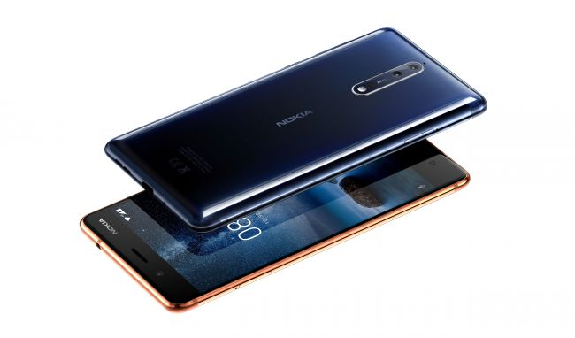 HMD Global launched nokia 8