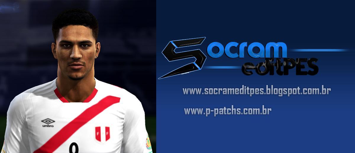 PES 2013 P. Guerrero Face 2018 by Socram