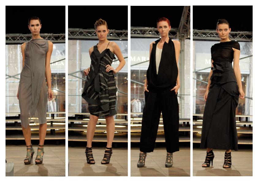 online retailer 56b82 3a398 Lipstick 'n' studs: Malloni: neosobrietà e tagli couture per ...