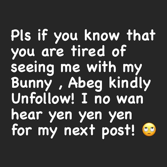 If You are tired of seeing my Pregnancy, Unfollow me- Uche  Ogbodo issues a warning