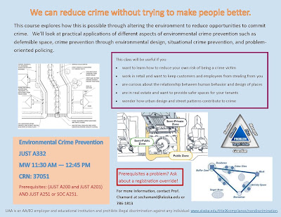 Environmental Crime Prevention (JUST A332) flyer