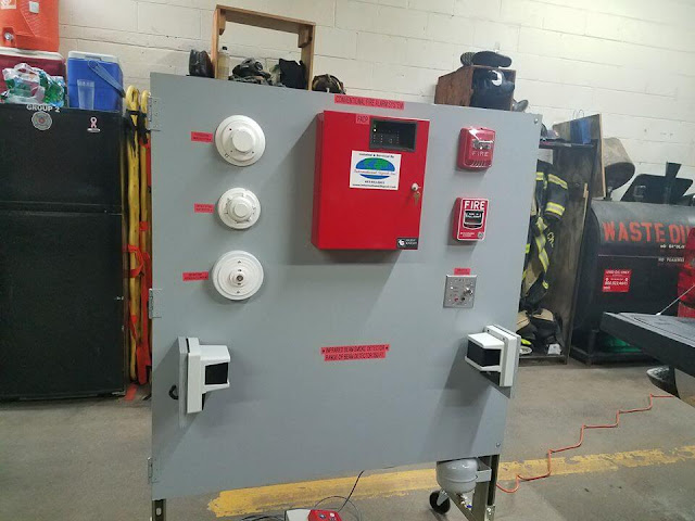 جهاز انذار الحريق  - ما هي مكونات جهاز إنذار الحريق وكيف يعمل
