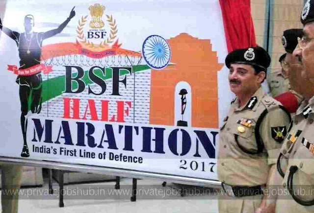 BSF Half Marathon 22nd Oct 2017 Registration Fee, Cash Prize, Timing, Route