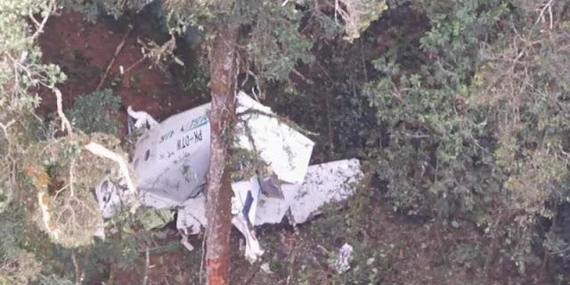 Pesawat Rimbun Air yang Hilang Kontak di Intan Jaya Berhasil Ditemukan
