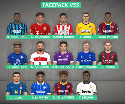 PES 2017 Facepack v55 by FR Facemaker