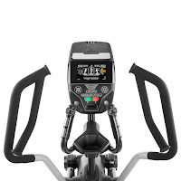 Multi-grip position handlebars, image, on Bowflex LateralX L5 Machine