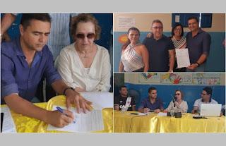 Guarabira: Marcus Diôgo assina contrato para reformas e ampliações de mais duas escolas