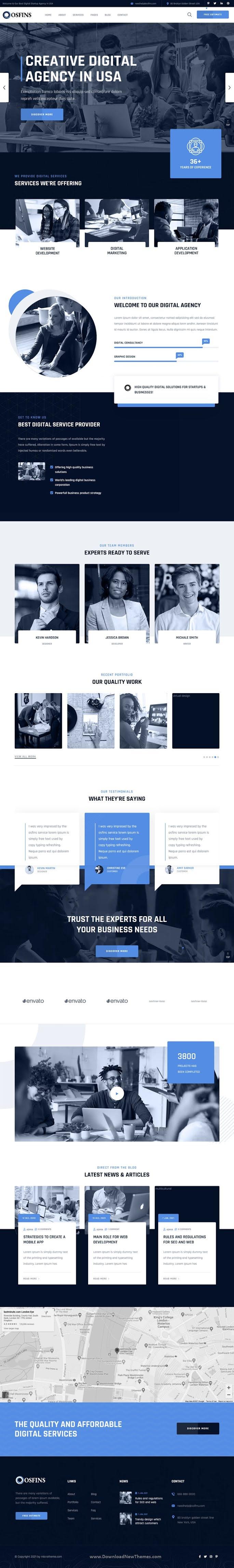 Digital Startup Agency WordPress Theme