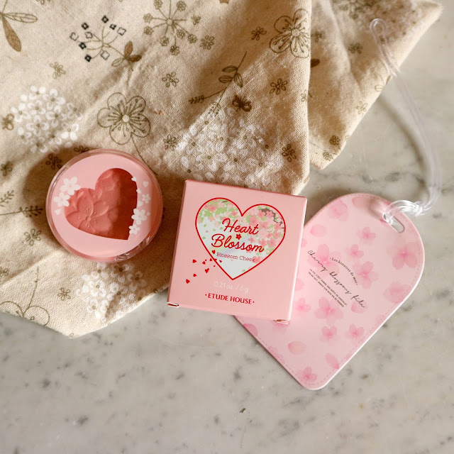 Mon avis sur le blush Etude House de la collection Heart Blossom (printemps 2020).