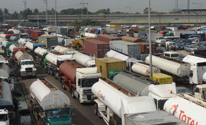 Image result for Ogun govt restricts movement of trucks, tankers