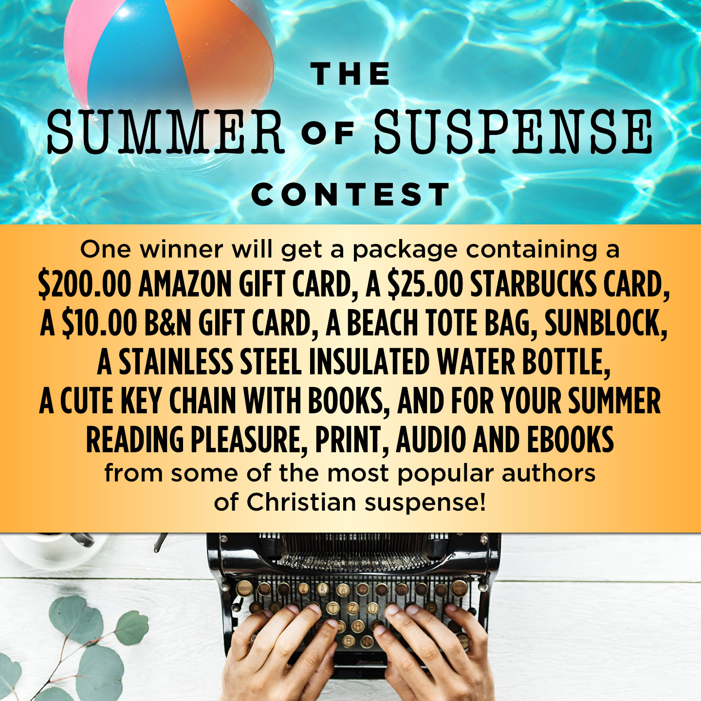 SUSPENSE SISTERS: SUMMER OF SUSPENSE CONTEST!